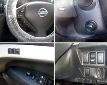 運転席の操作スイッチは操作しやすいです。