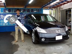 日産 プレサージュ 250XLのご納車おめでとうございます。