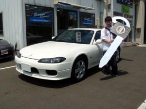 日産 シルビア 2.0スペックRのご納車おめでとうございます。